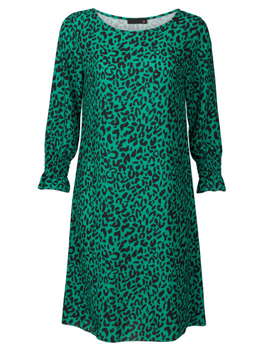 Dress Leopard Green
