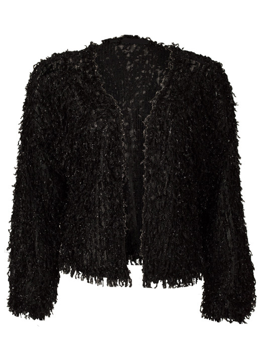 Image of Vest Glitter Black