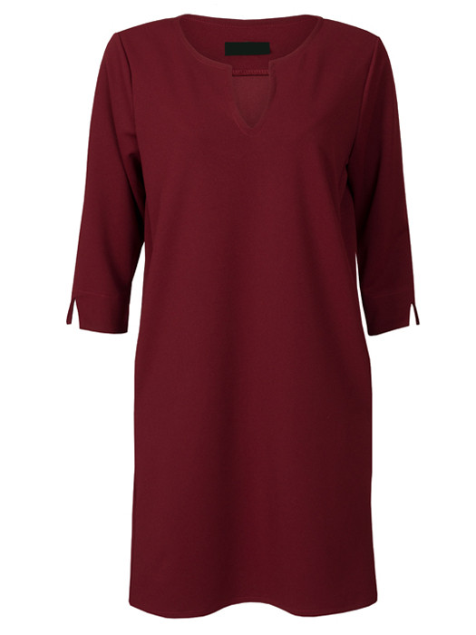 Jurk Savannah Bordeaux