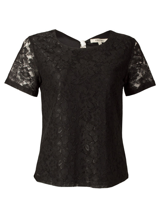 Top Lace Black