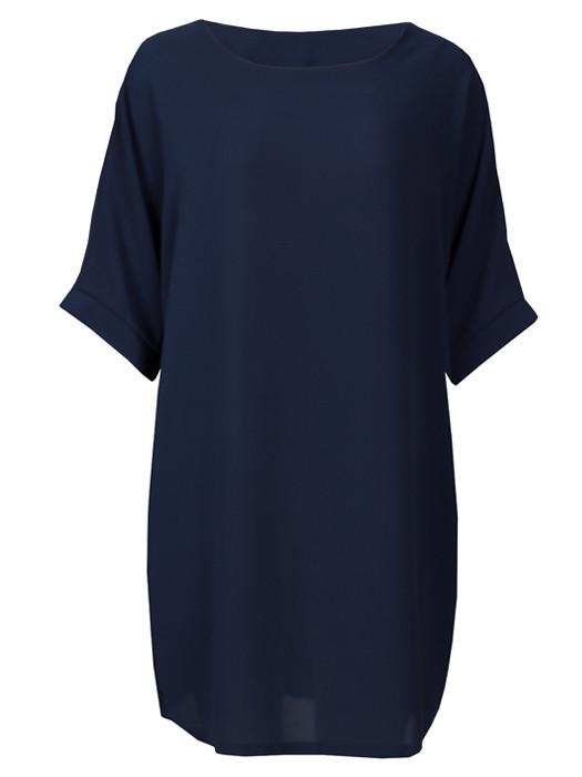 Comfy Dress Navy