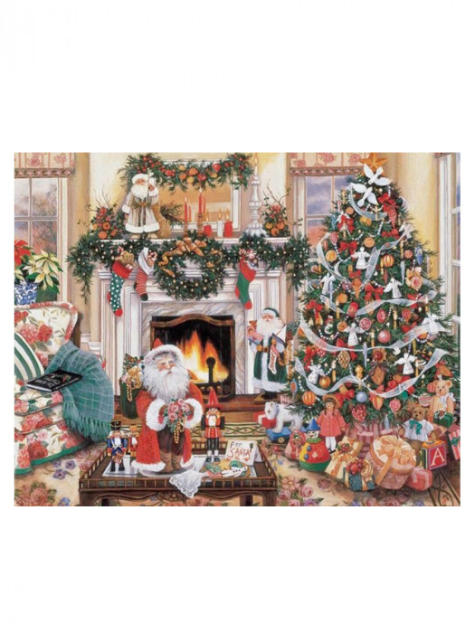 Kerst in Huis 40x30 Diamond Painting