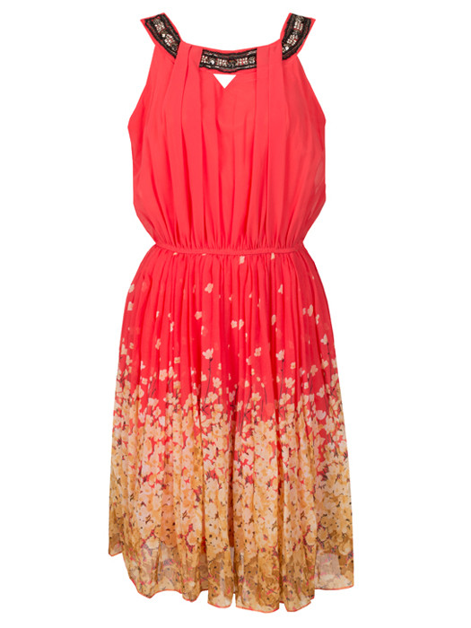 Dress Blossom Coral