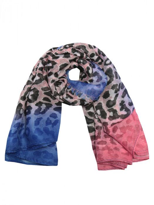 Sjaal Cheetah Roze