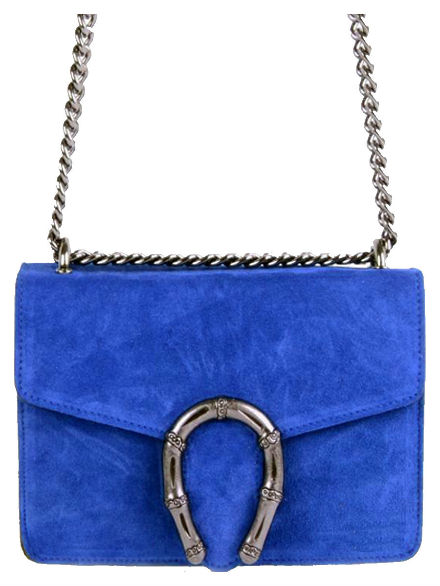 Leather Bag Jackie Blue