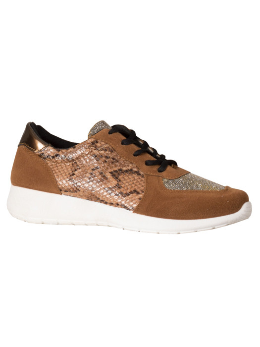 Sneakers Snake Brown