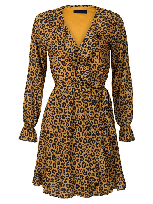Dress Pretty Leopard Oker