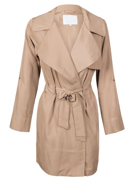 Van Fashionize Trenchcoat Beige Prijsvergelijk nu!