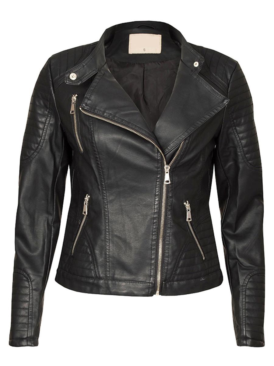 Van Fashionize Biker Jacket Black Prijsvergelijk nu!