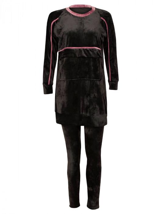 Huispak Velvet Zwart