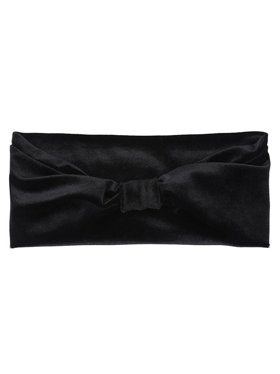 Image of Haarband Fluweel Zwart