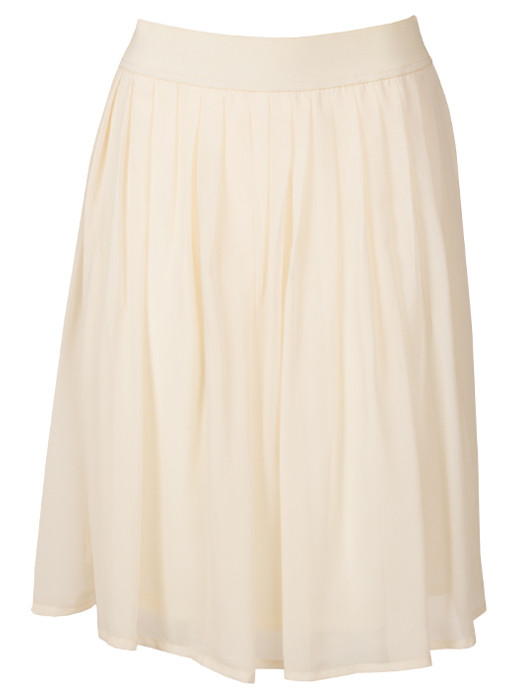 Pretty Cream Skirt
