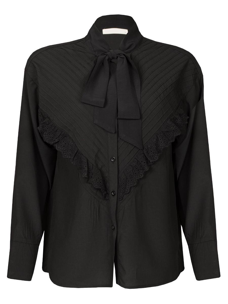 Van Fashionize Blouse Bow Tie & Ruches Prijsvergelijk nu!