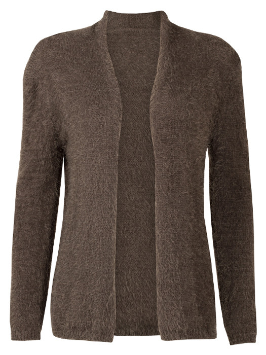 Image of Vest Fluffy Taupe