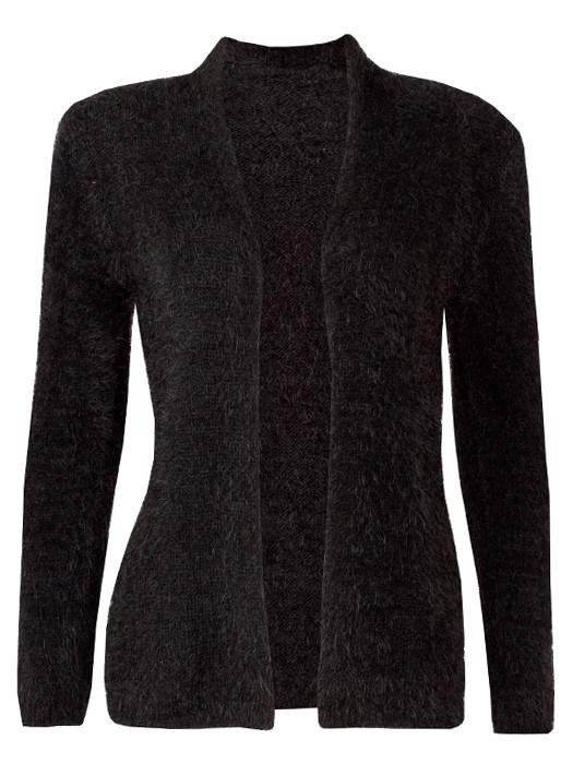 Vest Fluffy Black